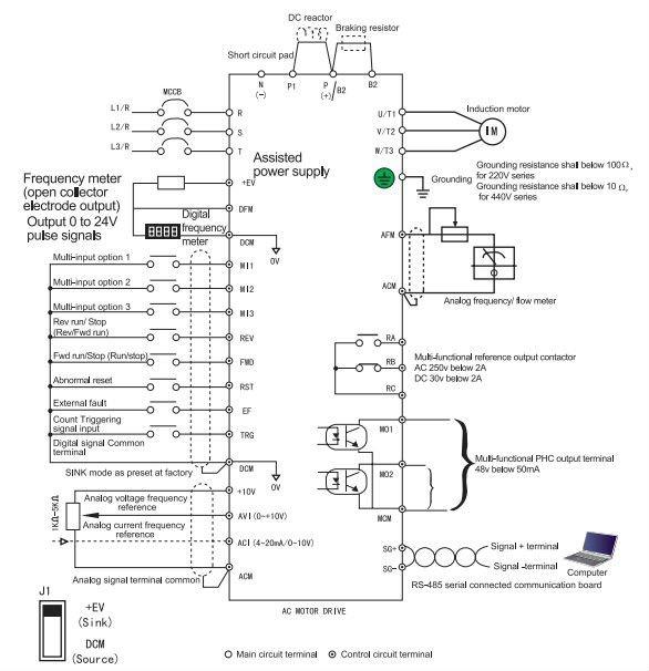 mitsubishi 380 air conditioning wiring diagram diagram wiring diagram inverter mitsubishi maker