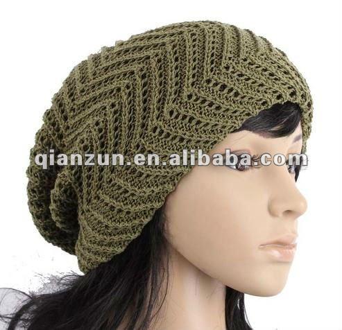 New Unisex Beanie Crochet Knit Hat Women Men Slouch ...