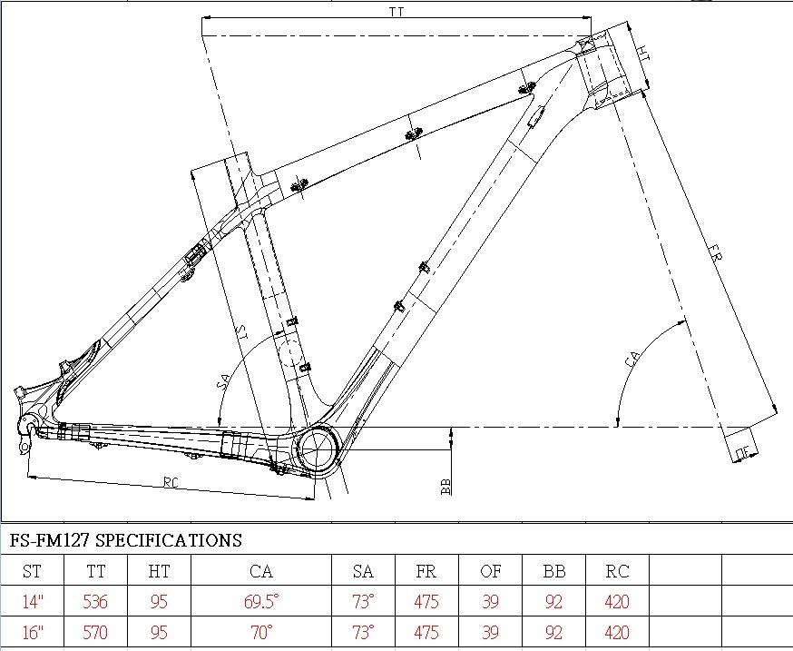 Mountainbike Rahmen Wihg Fahrradrahmen Für 14-zoll-laptop-rucksack ...