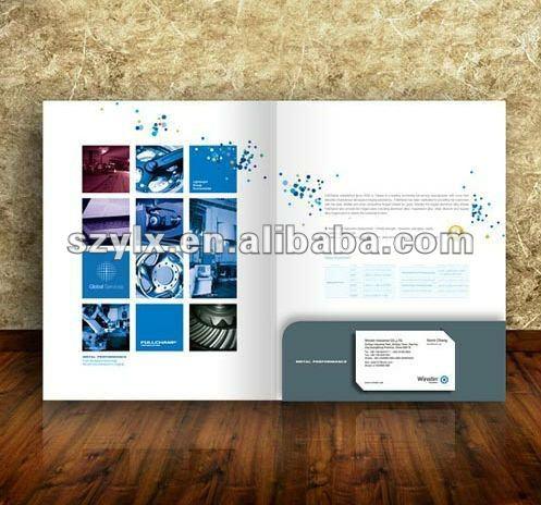 Cardboard presentation folder with business card holder buy cardboard presentation folder with business card holder colourmoves