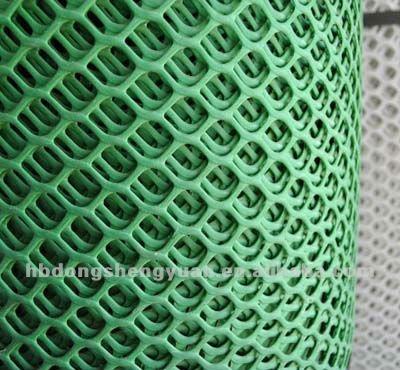 Plastic Flat Net Turf Reinforcement Mesh Grass Protection
