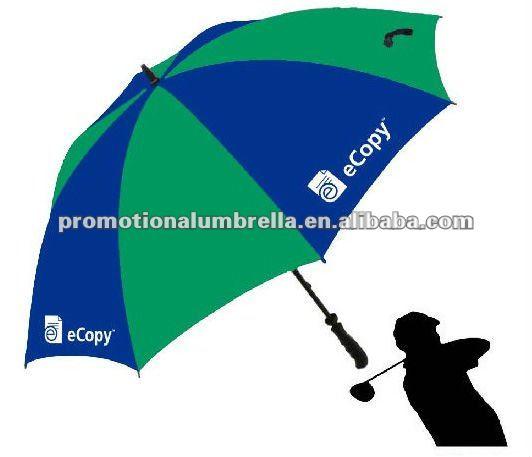 14702dbdf Green And Blue Promotion Silk Printing Umbrella - Buy Printing ...