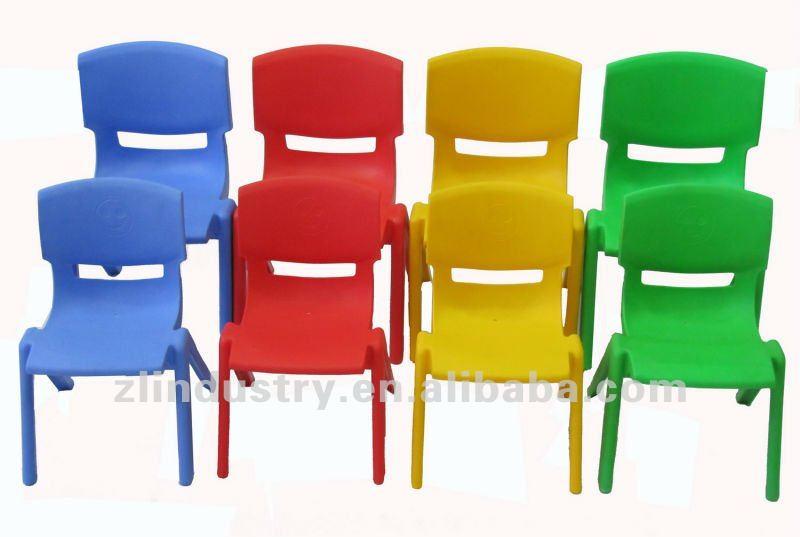 Children Stackable Recyclable Plastic School Chair