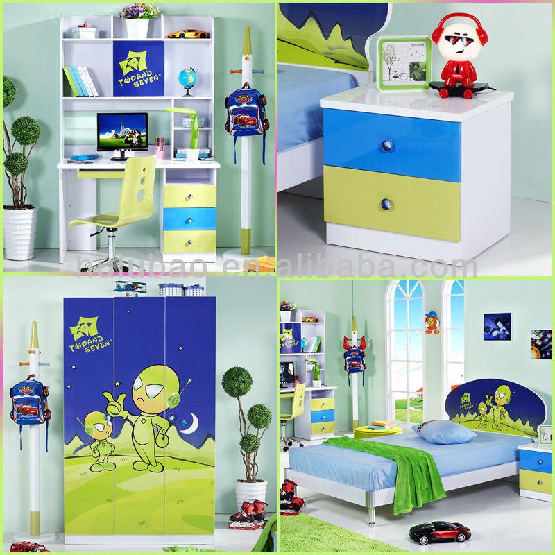 Children Bedroom Furniture Almirah Wardrobe Clothes