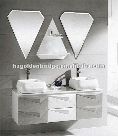 European Bathroom Design Wash Basin Mirror Cabinet P030 - Buy Wash ...