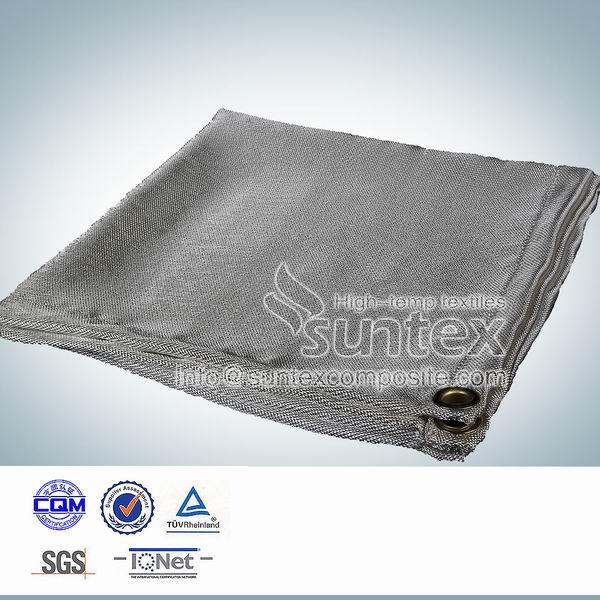 Pu fire resistant fiberglass welding blanket insulation for Fiberglass insulation fire resistance