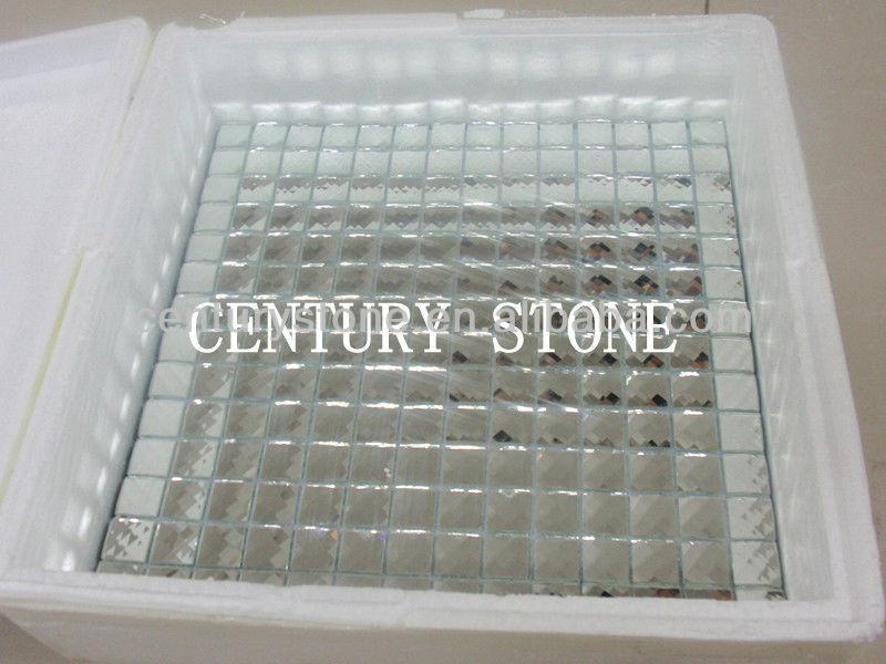 beveled glass mirror tile diamond glass silver mirror