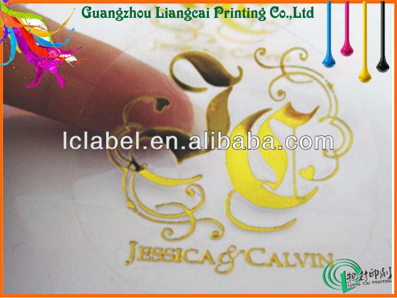 Highgrade Transparent Pvc Sticker Transparent Sticker Label - Custom vinyl stickers transparent