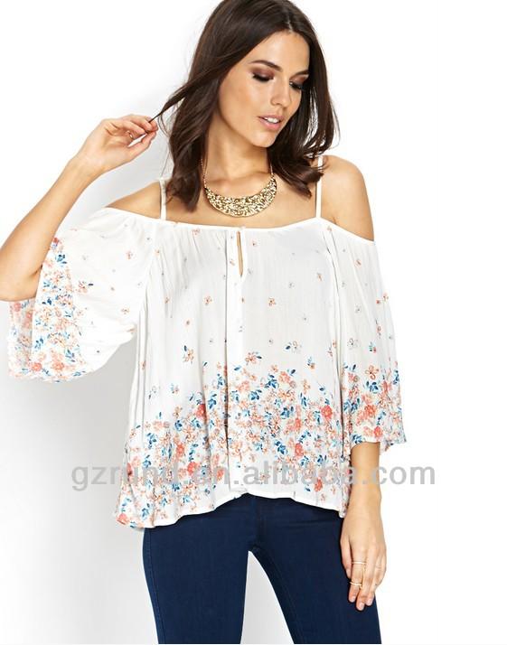 41dfcd4fefaf8 Mujer Diseño De Moda Dama Blusa Diseños Blusa Blusas Moda 2015 - Buy ...
