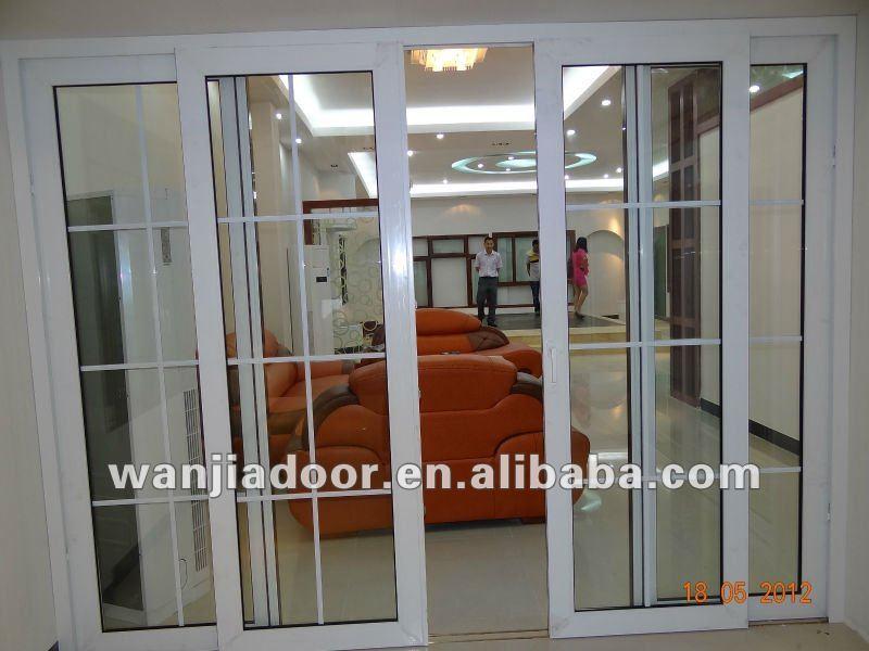 Ruang Tamu Kaca Pintu Interior Desain