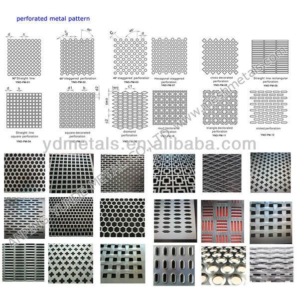 Building Balcony Design Perforated Aluminum Sheet Buy