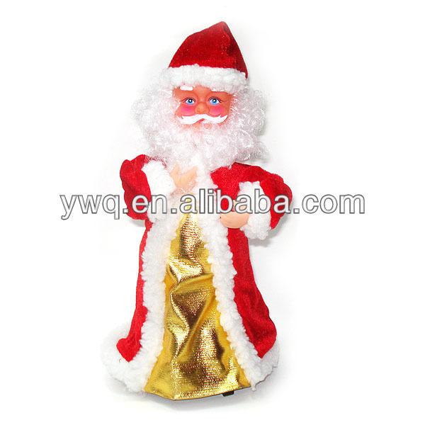 Moving Santa Electrical Santa Singing Santa Clause With Sledge ...