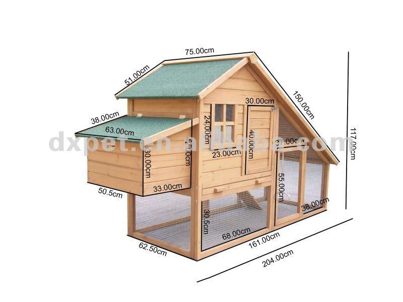 Mobile chicken coop plans hen house dxh019 buy mobile for Mobile hen house plans