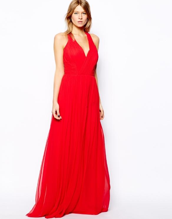 Rode Lange Jurk.Groothandel Fashion Design Maxi Dame Sexy Jurk Met Cross Back