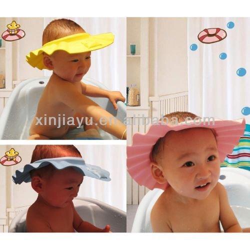 Baby Shower Cap Shampoo Visor Bath