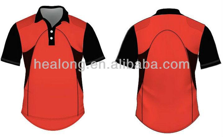 100% Polyester Custom Polo Cricket Uniform