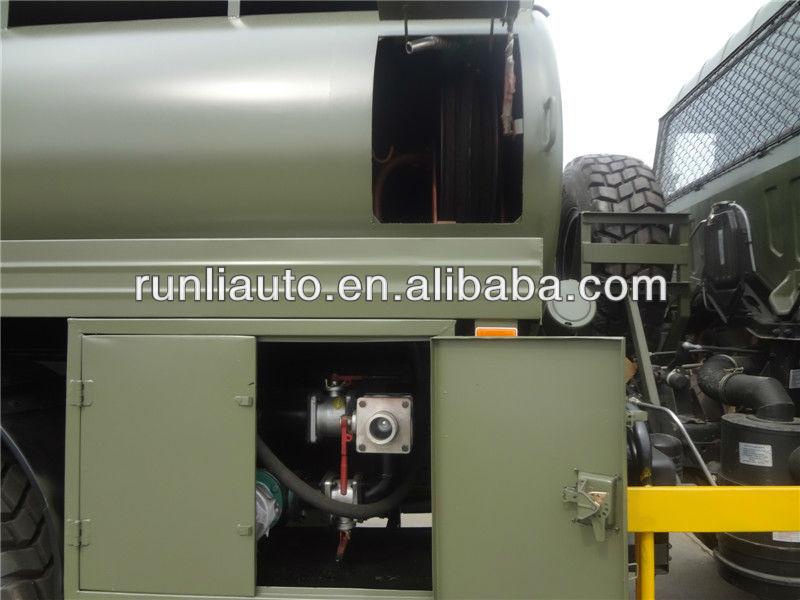 東風8000リットル6x6の軍の燃料タンカートラック/eq2102燃料タンク車 ...