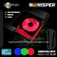 For Xbox 360 Slim Talismoon Whisper Slim Cooling Fan - Buy For ...