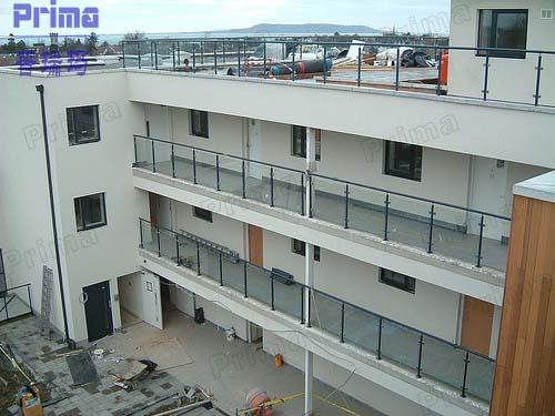 Buitenkant roestvrij staal balkon grill terras terras balustrade