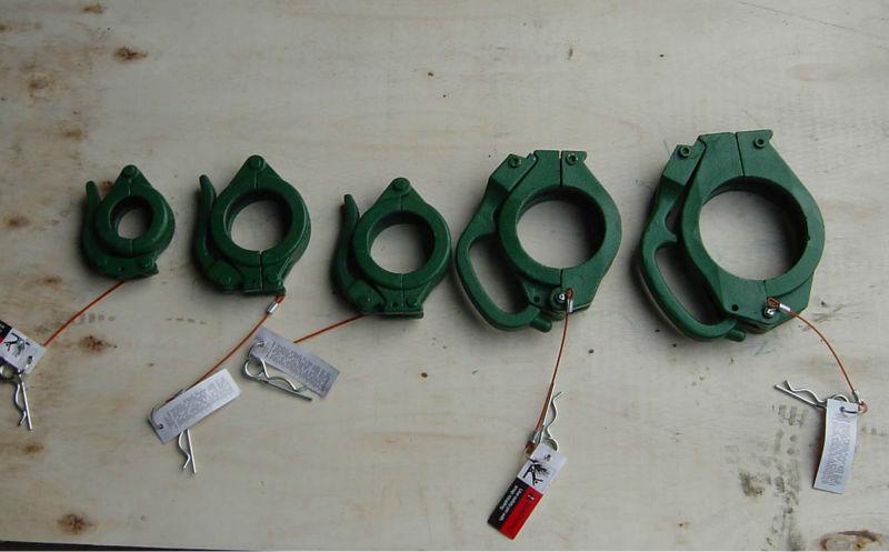 China supplier casting concrete pump rubber hose clamp