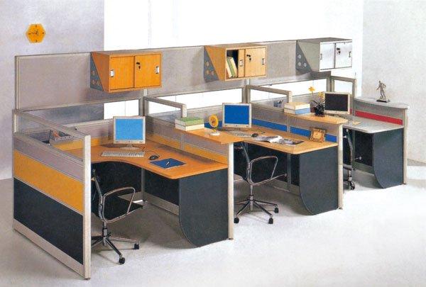 Workstation Desk Design modern design workstation desk/office staff partition designs
