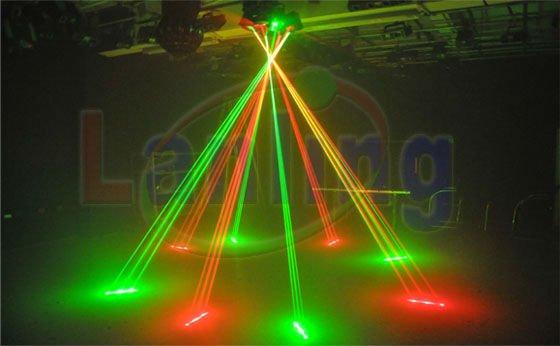 Outdoor Christmas Laser Lights Octopus Fat Beam Laser Ln800rg ...