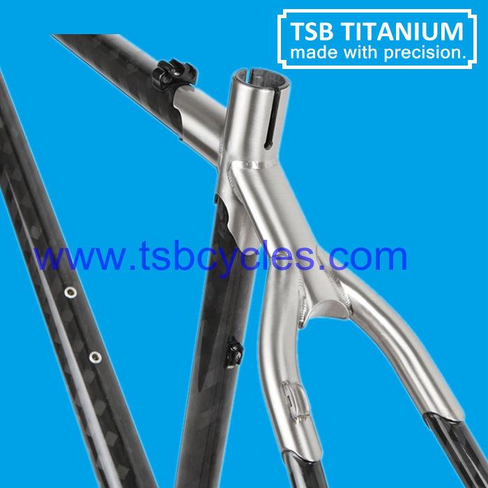 Titan Carbon Mtb Rahmen Kohlenstoff Titanrahmen Fahrrad Tsb ...