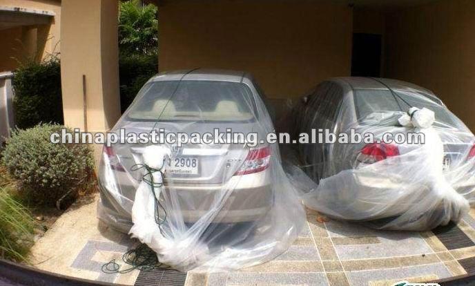 Plastic Waterproof Car Bag Buy Car Bag Protect From Flood Car