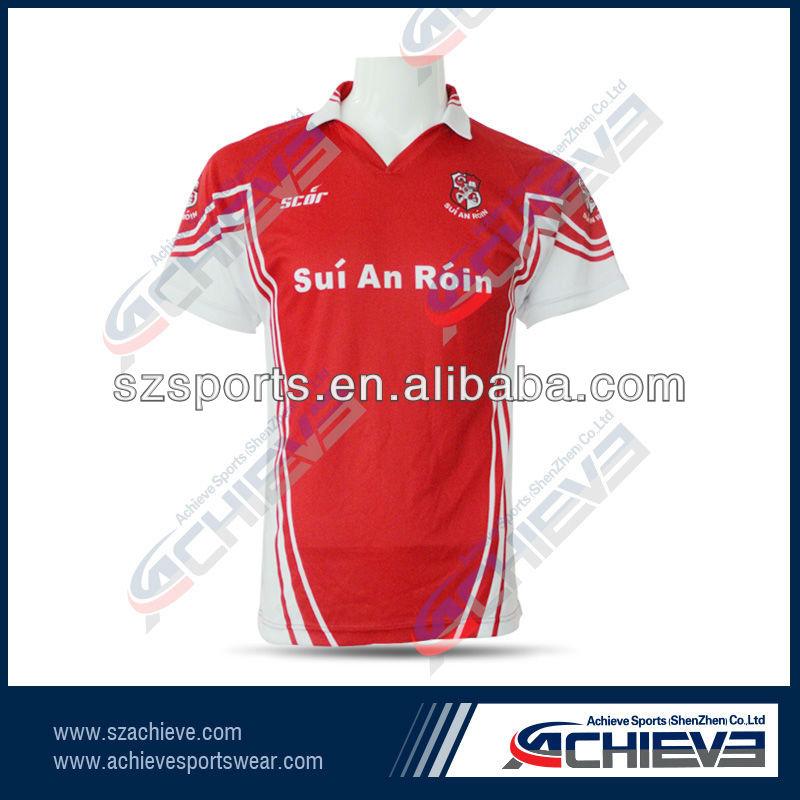 New Design Cricket Jerseys Customized Sport T Shirts
