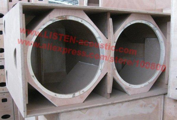 Speaker box design 18 inch