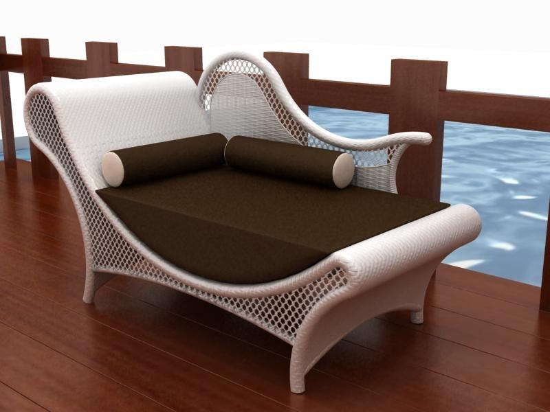 Garden Rattan Queen Chair Or Wicker Outdoor King Chair