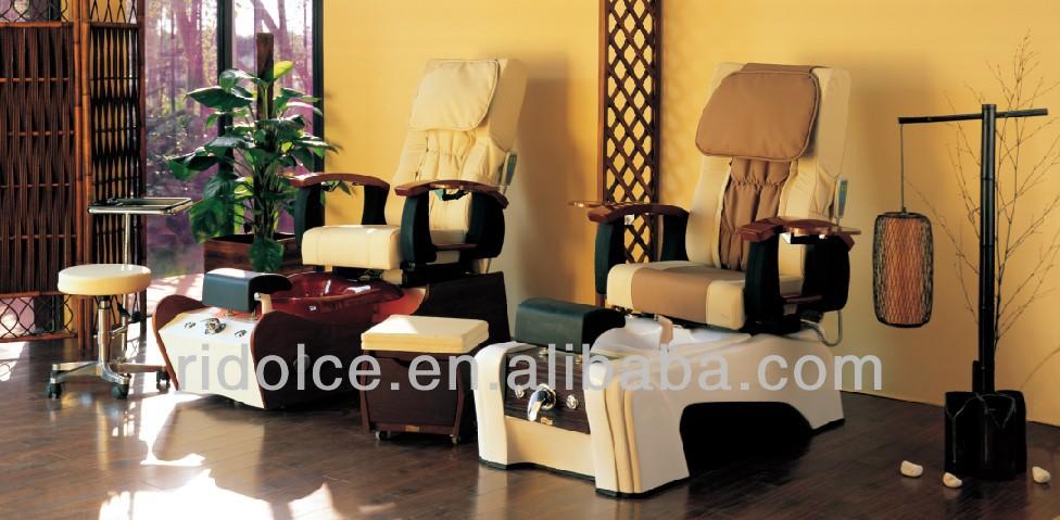 Electric shampoo chair hair wash equipment hair salon for Used salon stations
