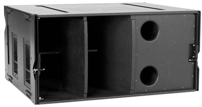 array sub-bass, speaker cabinet, Pro audio bass bin (WLX), View ...