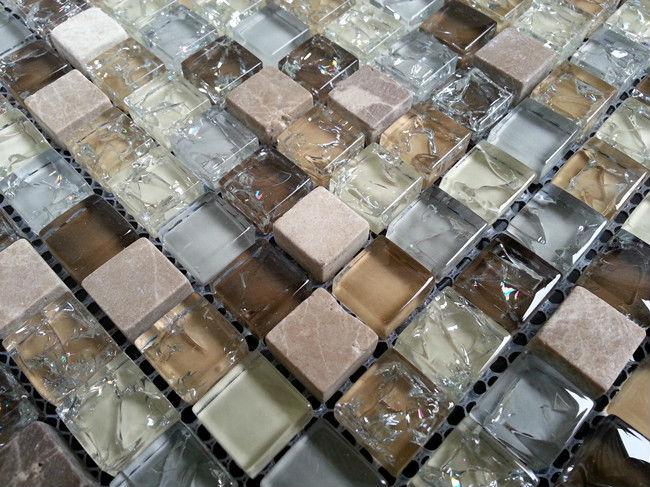 Factory Supply Broken Glass Mosaic Tile Buy Broken Glass