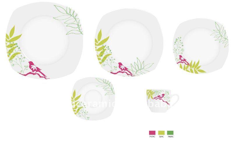 vaisselle 20 pcs moderne porcelaine de vaisselle buy product on. Black Bedroom Furniture Sets. Home Design Ideas