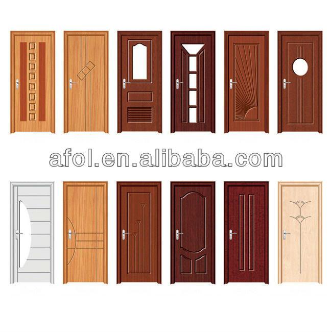 Zhejiang Afol Wooden Bedroom Doors Polish Interior Solid Wood ...