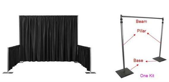 Aluminum Curtain Pole Sets For Window Buy Curtain PoleAluminum