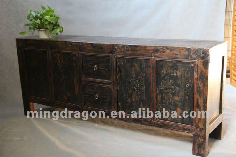 Tv Kast Antiek Grenen.Chinese Antieke Meubelen Grenen Hout Donker Hout Kleur Shanxi Vier