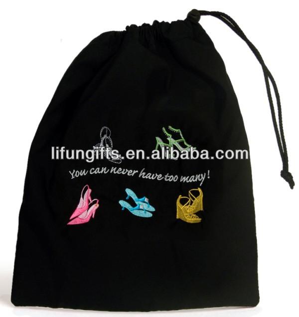 2016 Cotton Drawstring Sport Shoe Bag With Custom Printing - Buy ...
