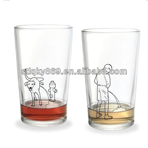 lyt182 china glassware custom higball glass cool drinking pint glass funny glass