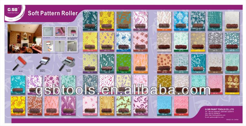 popular texture decorative pattern paint roller GR29