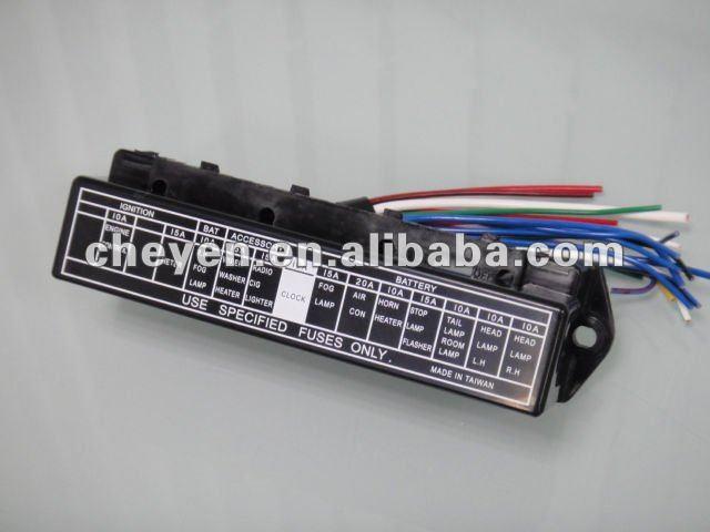 Car fuse box automobile automotive