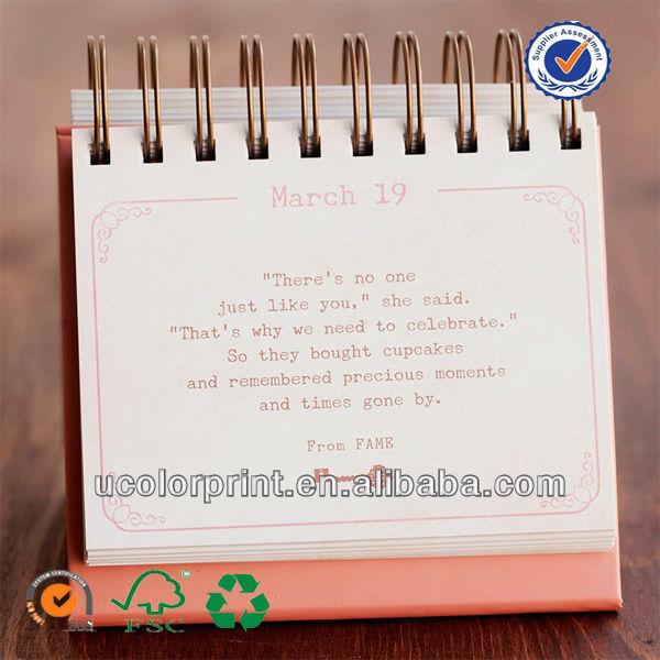 Ucolor Make Custom Calendar,Calendar Printing,12 Mothes Desk ...