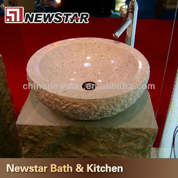 Wastafel met granieten blad stenen gootsteen stenen sokkel gootsteen buy product on - Zinkt de verkoop ...