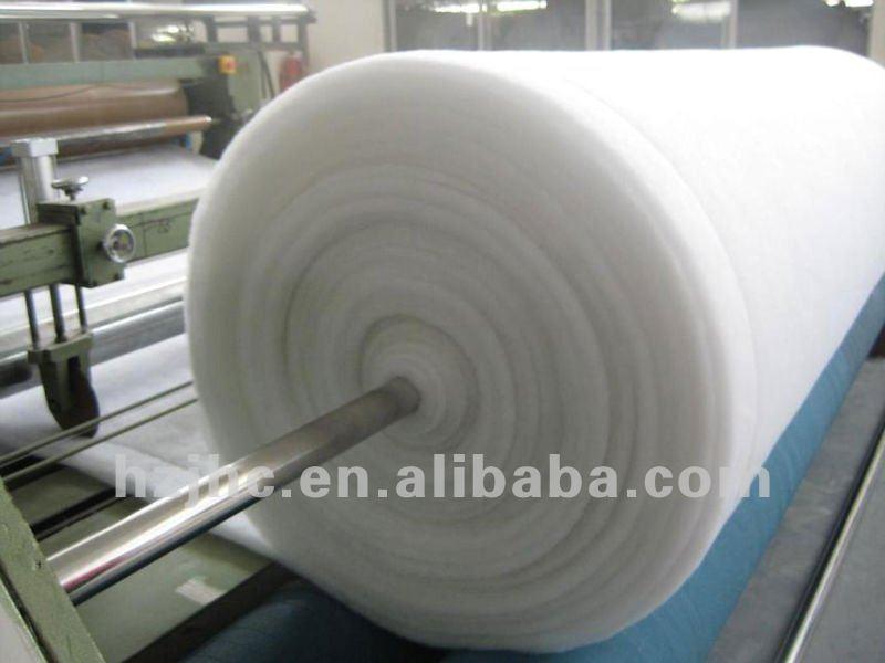 Thermal Bonded Silk Wool Polyester Wadding Batting Padding