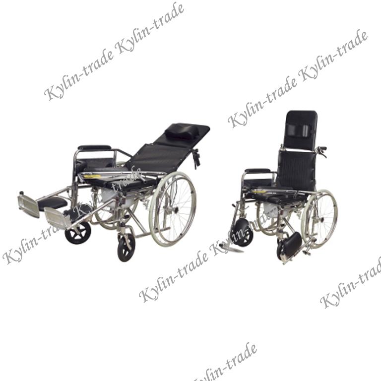 High Back Reclining Wheelchair Kl608gcuj - Buy High Back ...