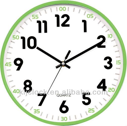 Yuvarlak Duvar Saati Sanat Saat Boyama özel Tasarım Duvar Saati Dial