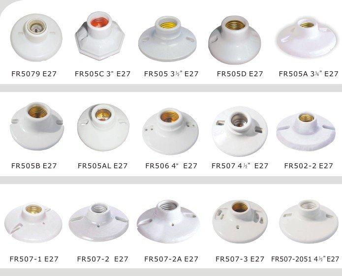 E27 Porcelain Lamp Holder - Buy Lamp Holder,Porcelain Lamp Base ...