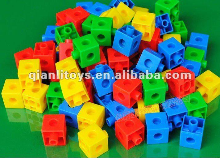 Plastic Educational Block Toy Snap Cubes Ql 015 B 5 Buy