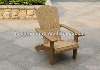 Outdoor Plastic Wood Chair Garden Furniture / Adirondack Chair ...